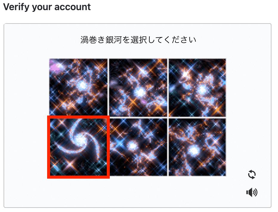 渦巻銀河の例