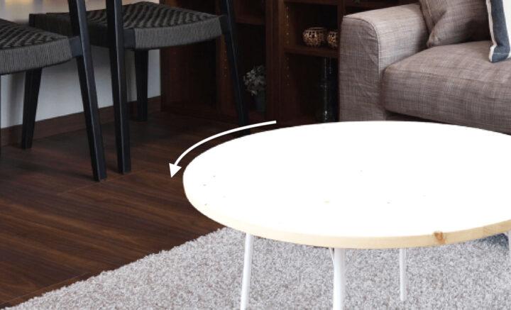 テーブルの外周をぼかす